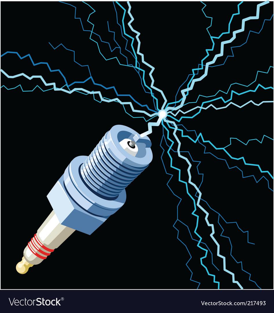 Sparkplug vector | Price: 1 Credit (USD $1)