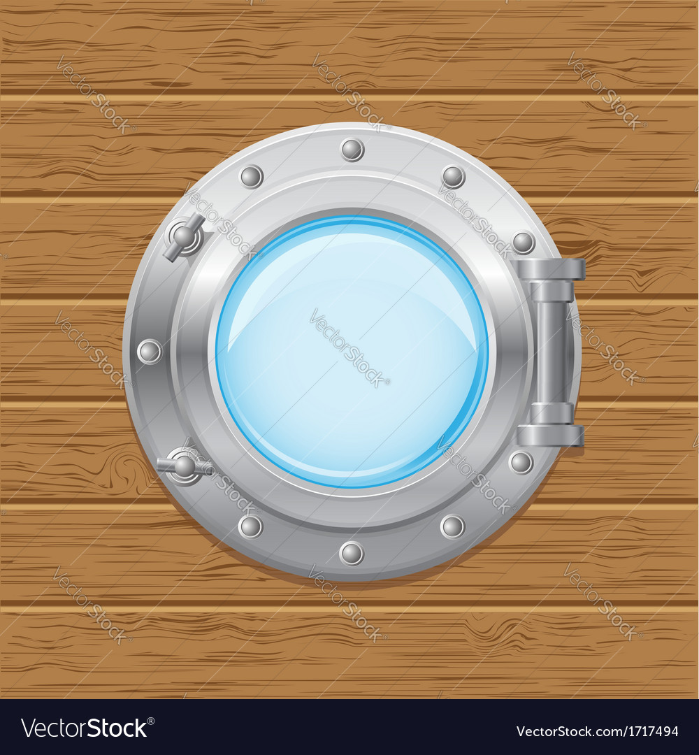 Boat porthole 02 vector | Price: 1 Credit (USD $1)