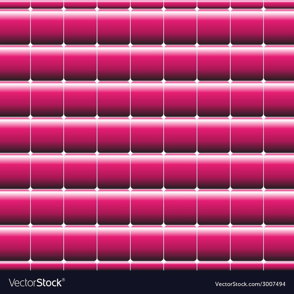 Retro style square pink background vector
