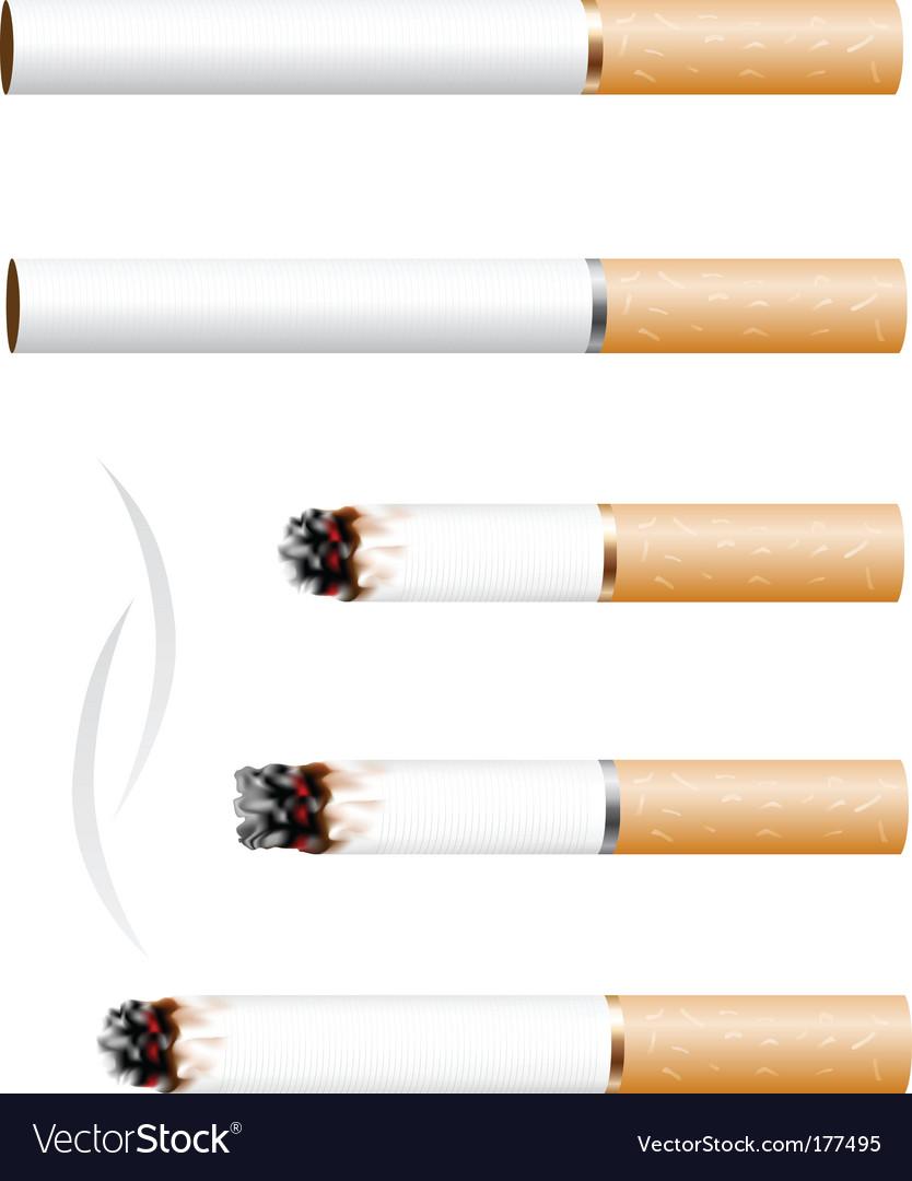 Cigarette vector   Price: 1 Credit (USD $1)