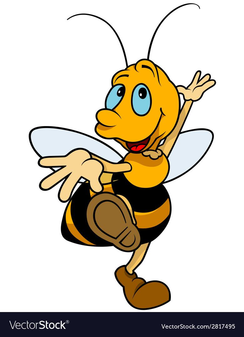 Dancing bumblebee vector   Price: 1 Credit (USD $1)