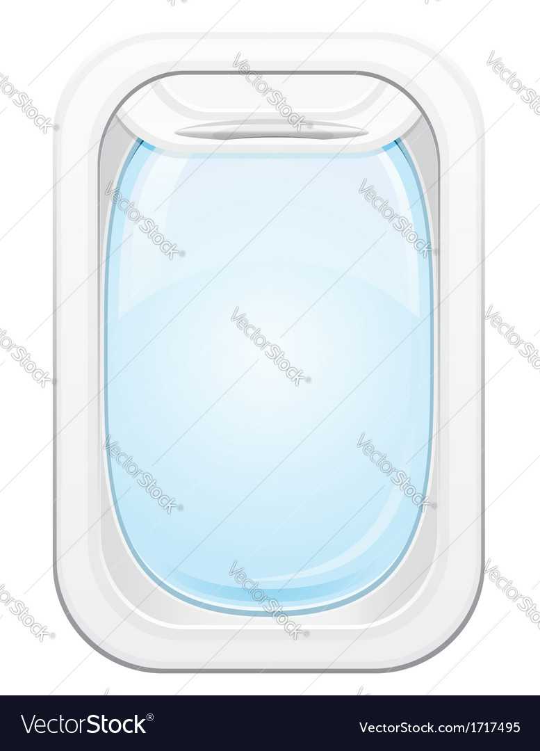 Plane porthole 01 vector | Price: 1 Credit (USD $1)