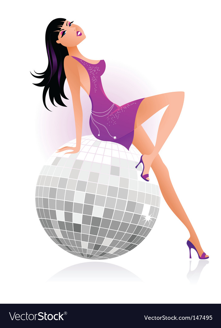 Sexy female dancer vector | Price: 1 Credit (USD $1)
