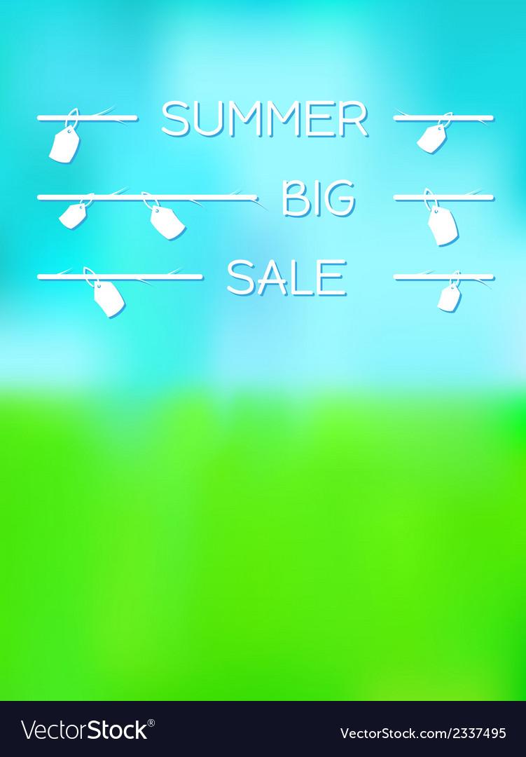 Summer big sale vector | Price: 1 Credit (USD $1)