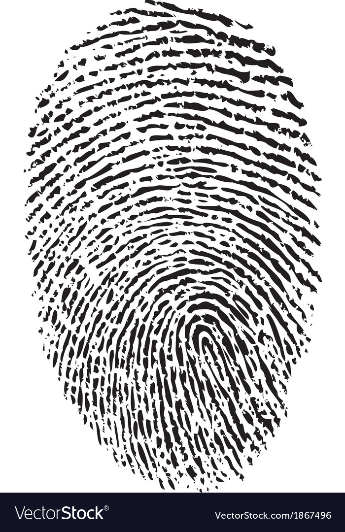 A finger print vector | Price: 1 Credit (USD $1)