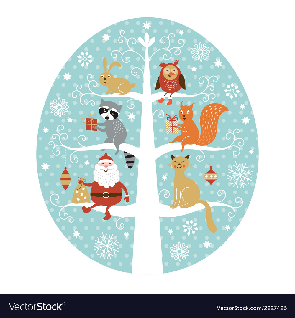 Christmas greeting card vector | Price: 3 Credit (USD $3)