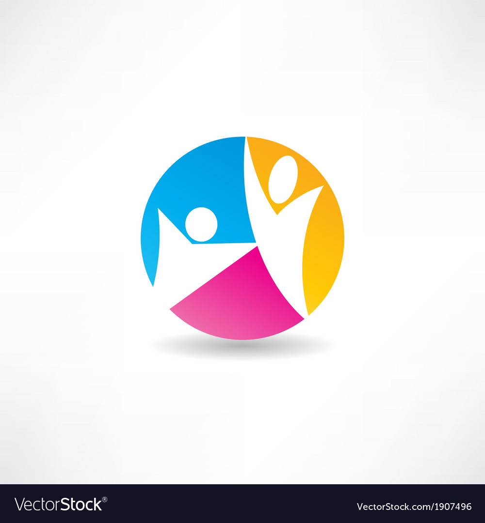 Unity of the people icon vector | Price: 1 Credit (USD $1)