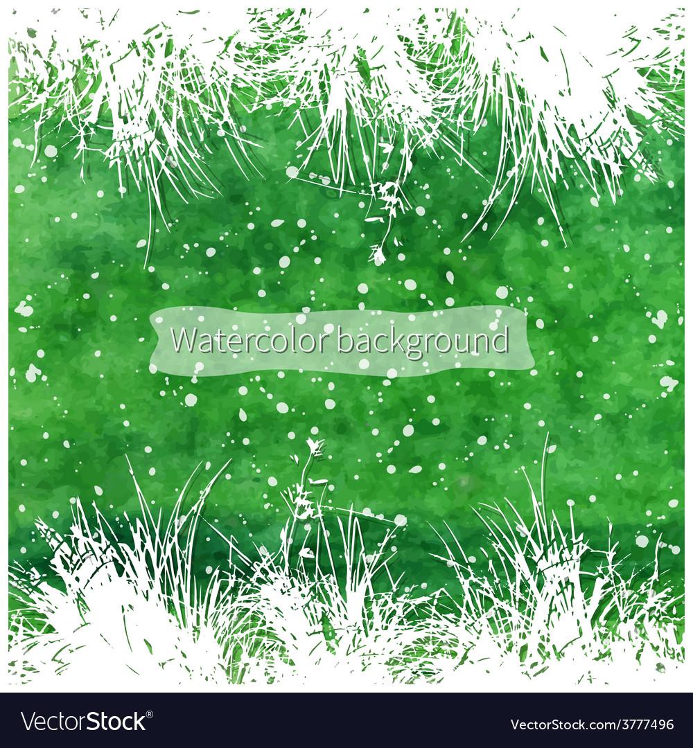 White grass vector | Price: 1 Credit (USD $1)