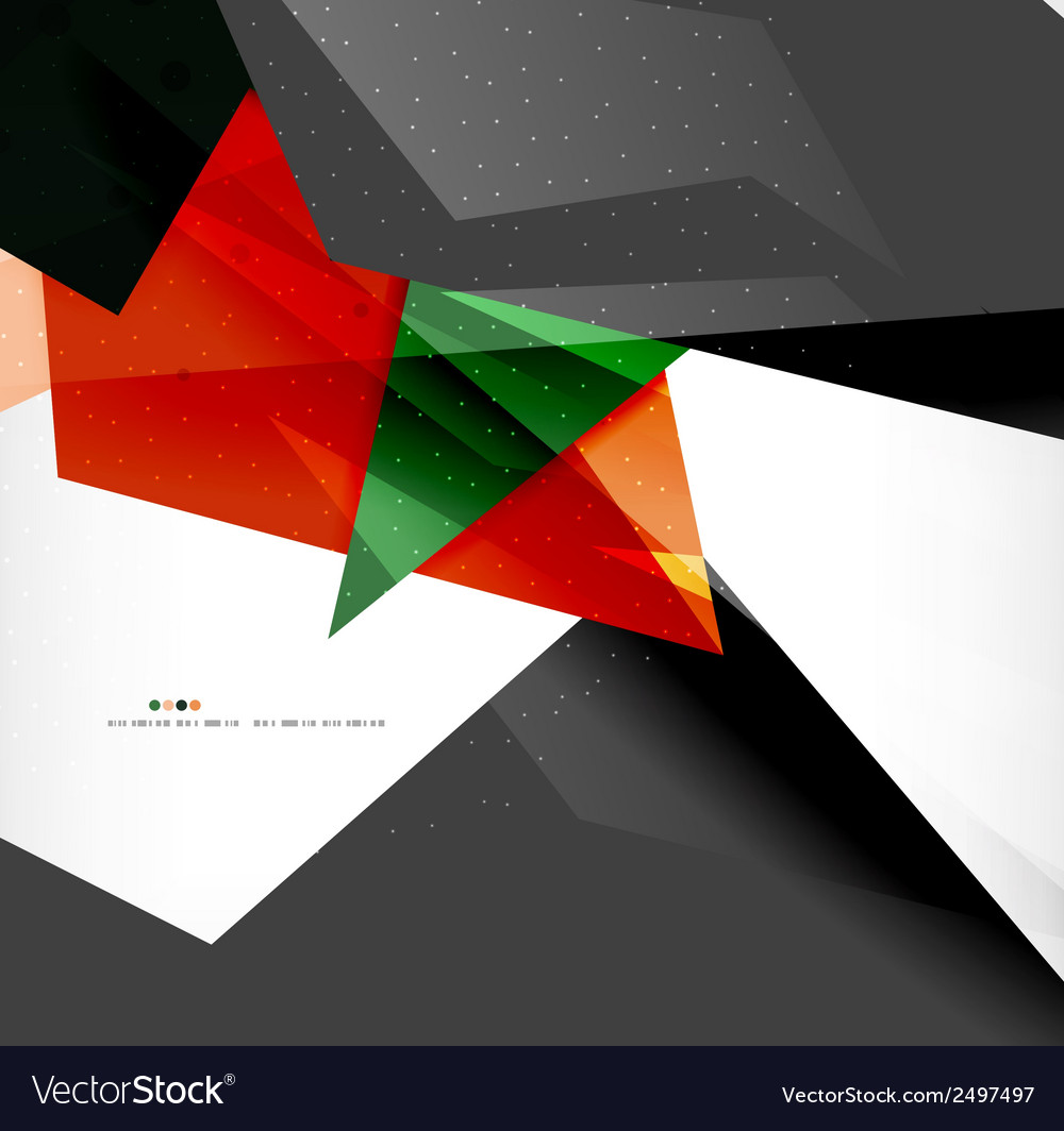 Abstract colorful overlapping composition vector | Price: 1 Credit (USD $1)