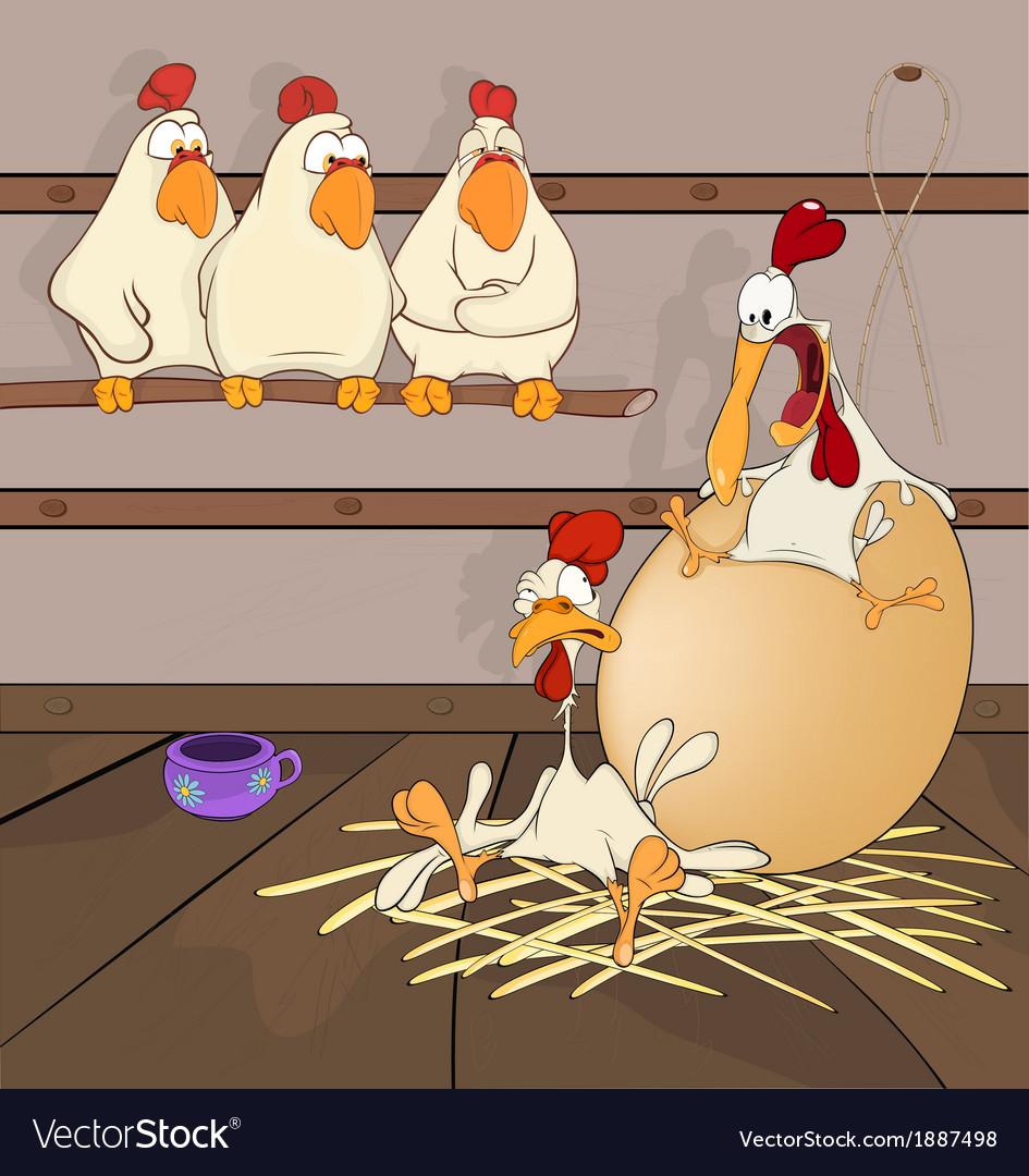 Big egg cartoon vector   Price: 1 Credit (USD $1)