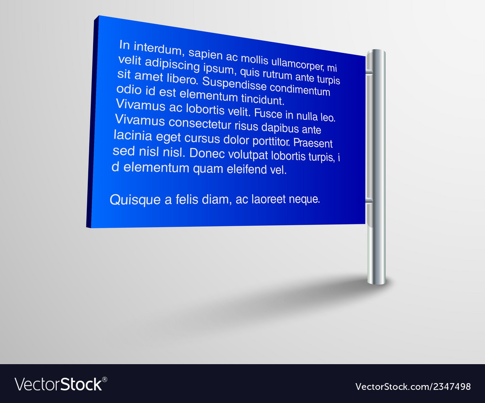 Blank trade show booth for designers vector | Price: 1 Credit (USD $1)