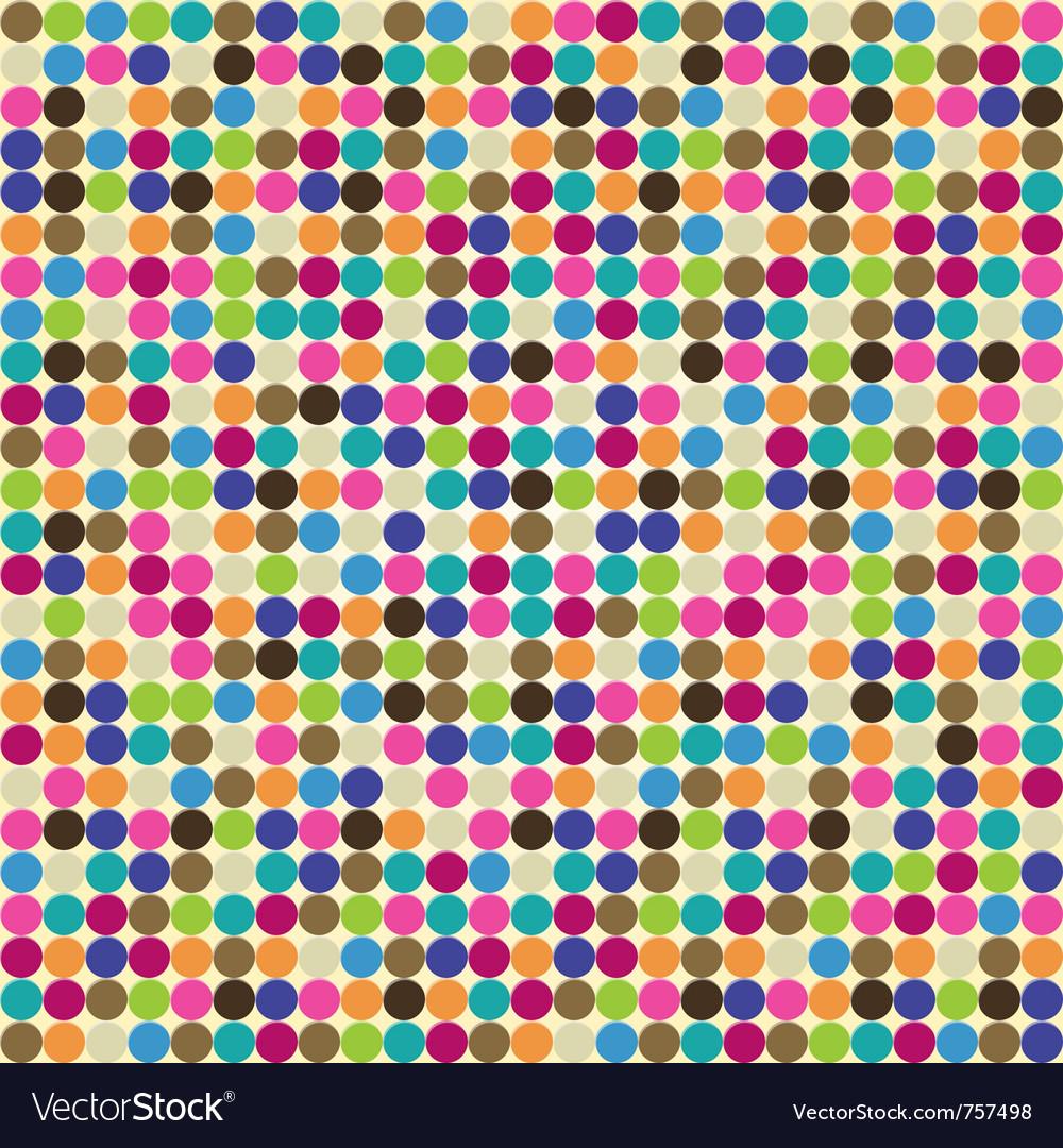 Circle abstract pattern vector