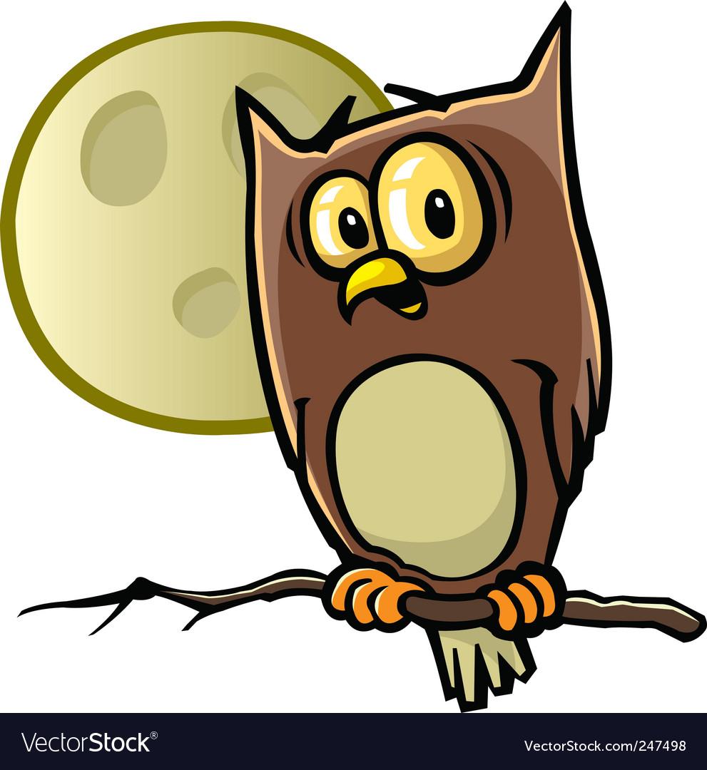 Halloween owl vector | Price: 1 Credit (USD $1)