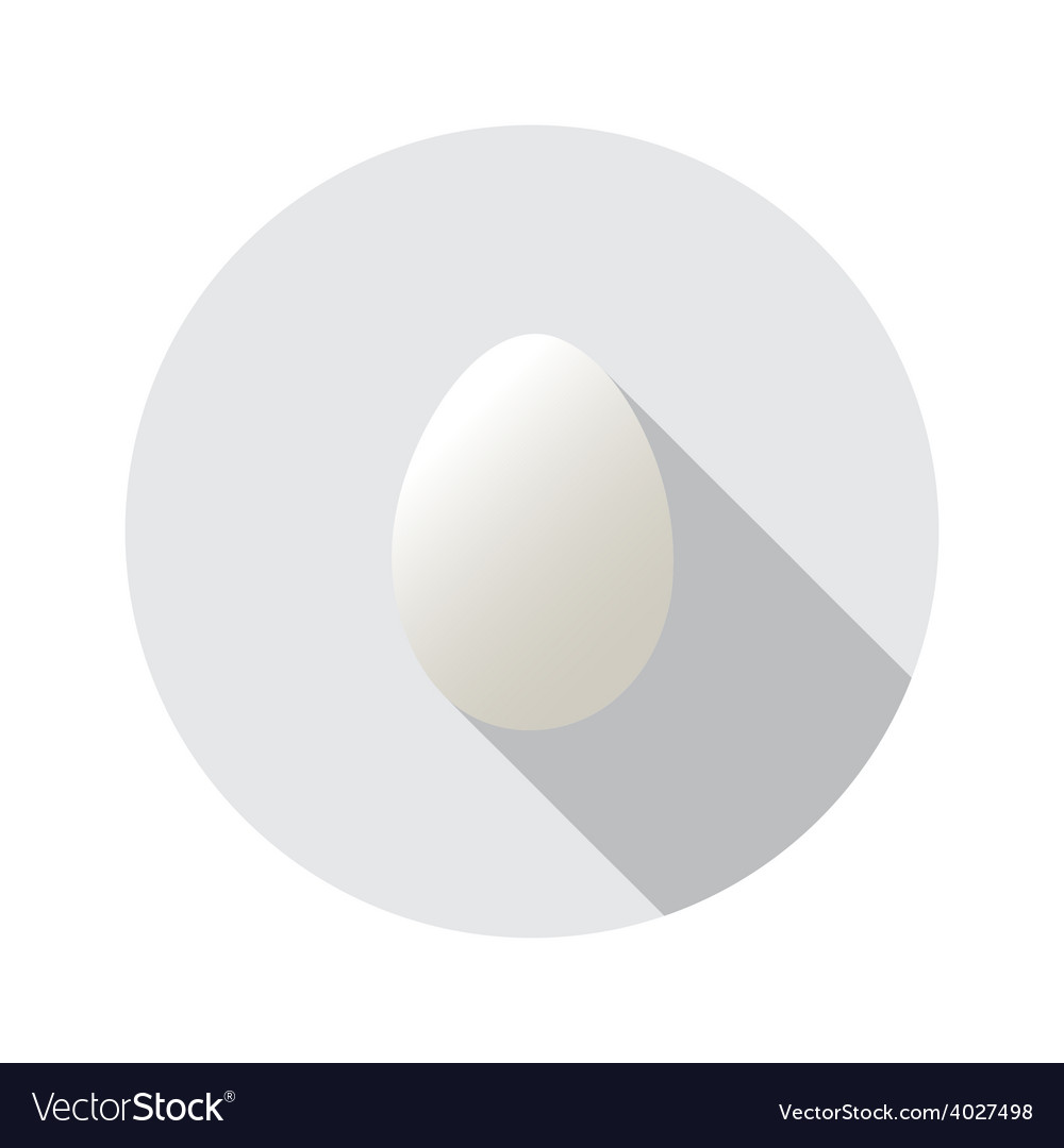 Realistic shape of egg easter egg shape vector   Price: 1 Credit (USD $1)