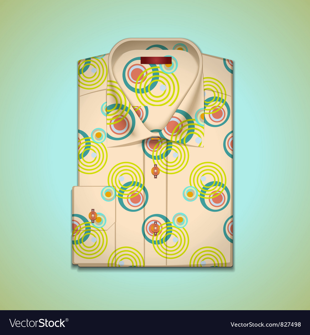 Shirt into a large pattern vector | Price: 3 Credit (USD $3)