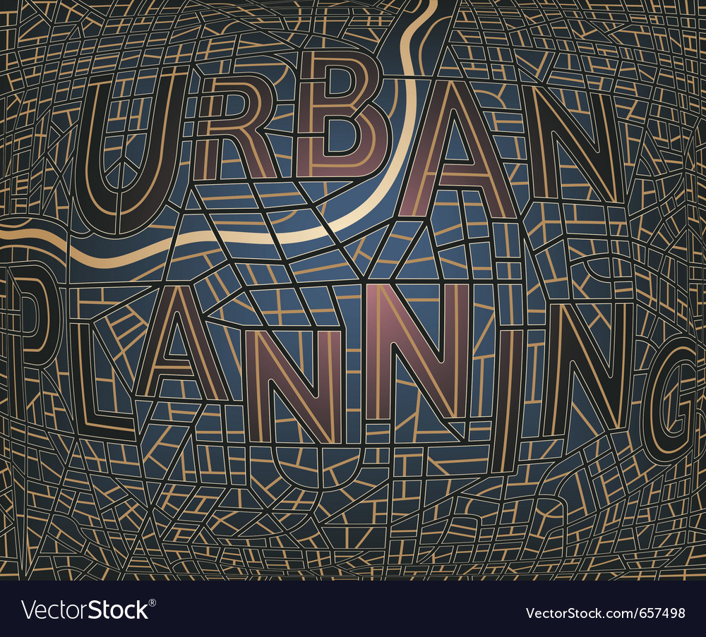Urban plan vector | Price: 1 Credit (USD $1)