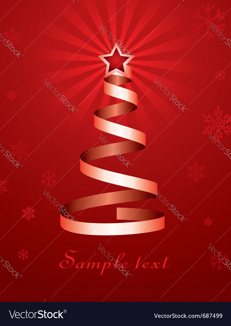 Christmas holiday tree vector | Price: 1 Credit (USD $1)