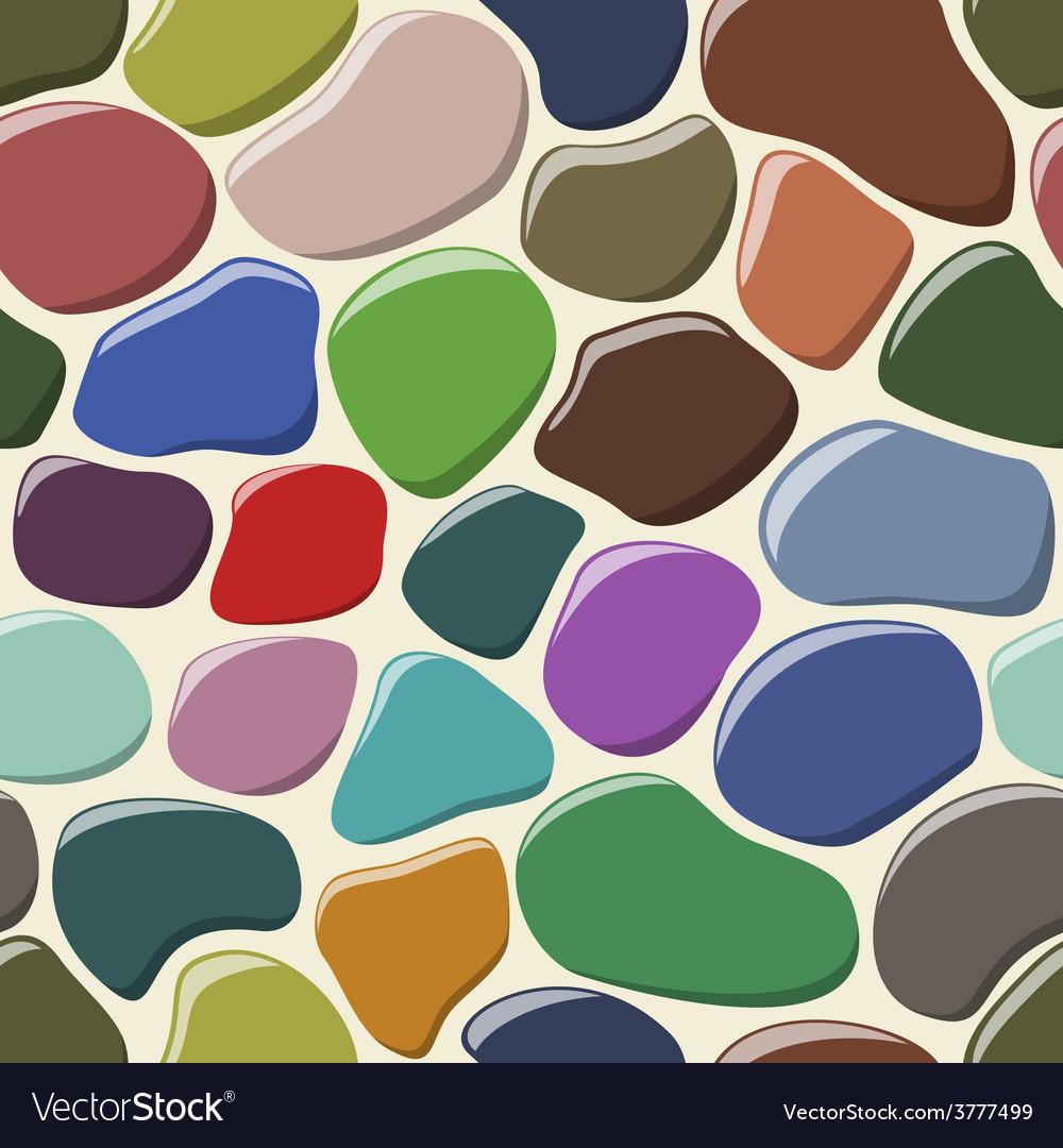 Cobblestone seamless background vector | Price: 1 Credit (USD $1)