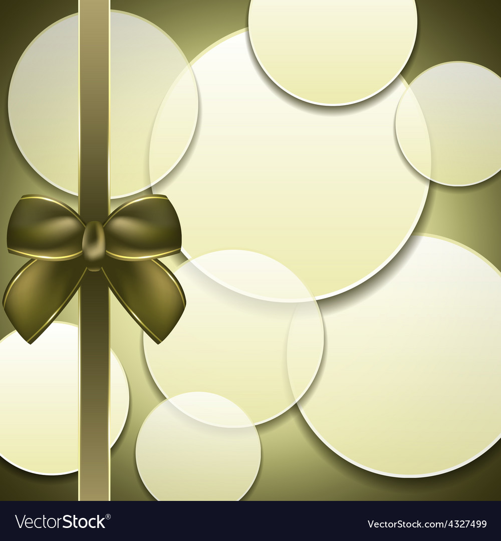Cover of the present box green background vector   Price: 1 Credit (USD $1)