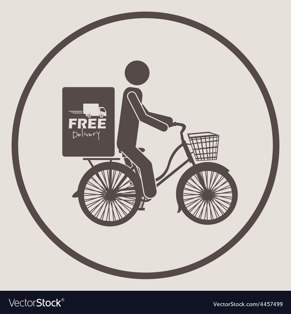 Free delivery design vector   Price: 1 Credit (USD $1)