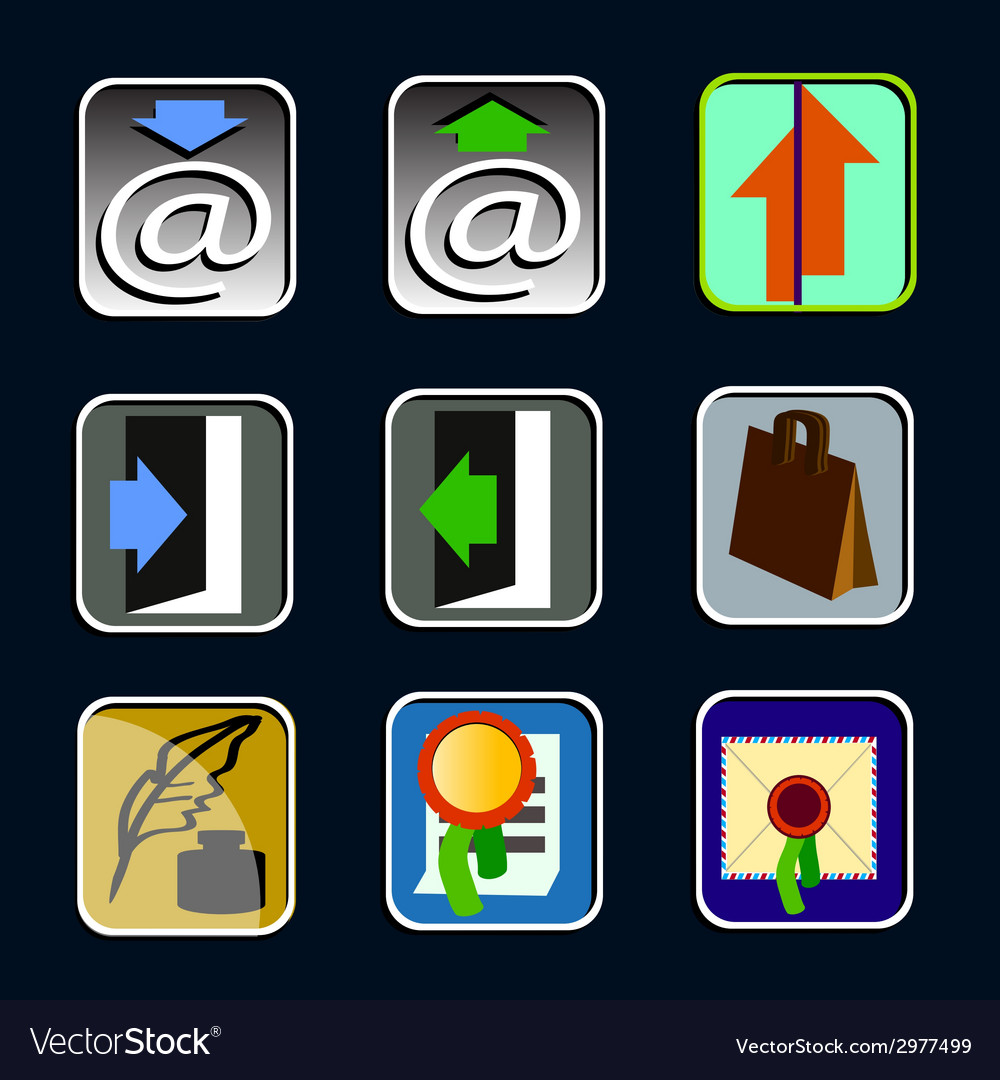 Icons 01 vector | Price: 1 Credit (USD $1)