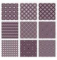 Seamless patterns vector