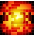 Red and orange squares abstract background vector
