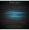 Shiny blue abstract stripes vector