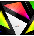 Abstract 3d geometrical design vector