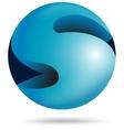Abstract 3d sphere alphabet s vector
