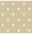 Seamless floral pattern flowers rustic texture vector
