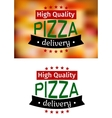 Piiza delivery banners vector