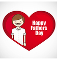 Fathers day fathers background with lines vector