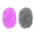 Thumb impression vector