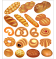 Set of bread wheat vector