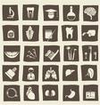 Health icons vector