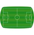 Green football field background vector