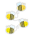 Buzzy bee vector