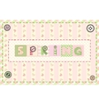 Word spring vector