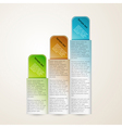 Vertical banners with sample text vector