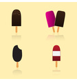 Ice lolly types eps10 vector