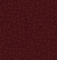 Abstract brown background with shapes resembling w vector