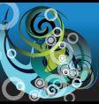 Tribal swirl vector