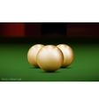 Realistic billiard ball vector