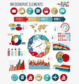 Vacation and travel infographics template vector