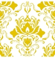 Golden vintage wallpaper vector