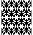 Black and white symmetric textured geometric vector