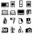 Electrical appliances vector