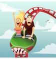 Roller-coaster vector