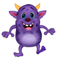 Cute monster cartoon vector